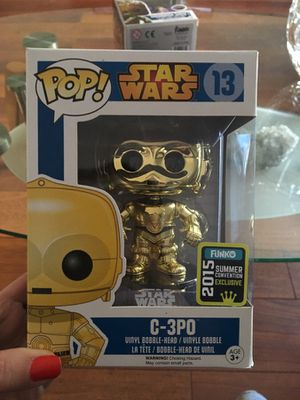 Star Wars Exclusive Funko POP! C-3PO Collectible #13 for Sale in Miami, FL