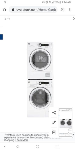 Ge washer and dryer for Sale in Lubbock, TX
