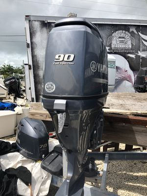 NICE 2013 YAMAHA F 90 hp 4-stroke new ll perfect !! come in @9am we can pull your old motor mount & go in the wate check out our wide selection for Sale in Fort Lauderdale, FL