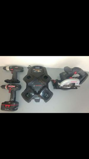 CRAFTSMAN 19.2 VOLT C3 POWER TOOLS for Sale in NEW PRT RCHY, FL
