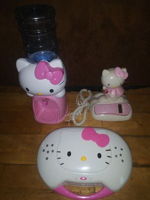3 hello kitty home decor items for Sale in Hawthorne, CA