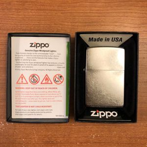 Zippo 207 Regular Street Chrome Lighter for Sale in Westminster, CA