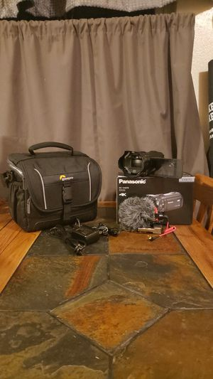 4K Video Camera - Panasonic HC-VX870 for Sale in Westminster, CO