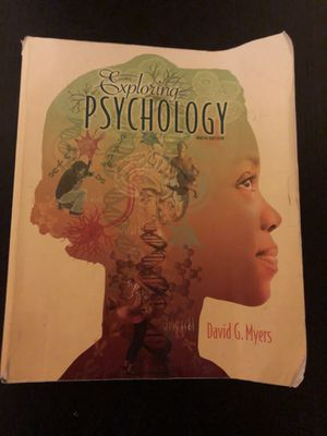 Exploring Psychology 9th Ninth Edition David G. Myers for Sale in Kirkland, WA