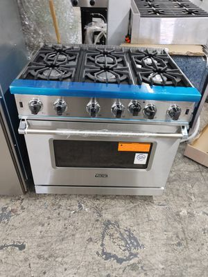 """Viking 36"""" stainless steel range stove for Sale in Chula Vista, CA"""