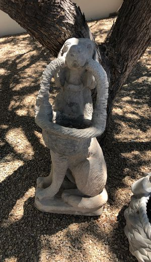 Outside decoration cement dog for Sale in Paradise Valley, AZ