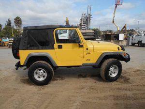 2001 Jeep Wrangler 4.0L Sport for Sale in Vista, CA