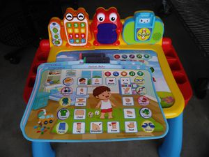 Kids Touch and learn deluxe Avtivity Desk Toddler Convertible Art Station Table for Sale in Carlsbad, CA