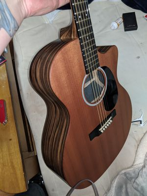 Martin X-Series Acoustic/Electric cutaway with African Mahogany top, and exotic Macasar back and sides rosewood fretboard Fishman onboard pickup for Sale in Chamblee, GA