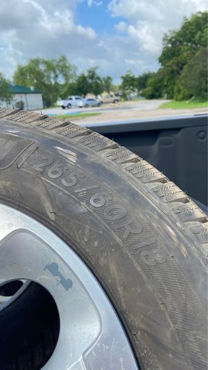 265 /60/18 Michelin Tires for Sale in League City, TX