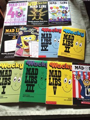 Mad Libb Books for Sale in Fresno, CA
