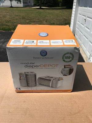 Prince Lionheart Modular Diaper Depot, New In Box for Sale in Bowie, MD