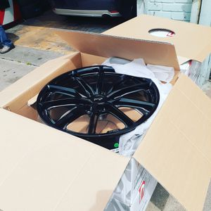 22 inch Rims and tires for Sale in Hyattsville, MD