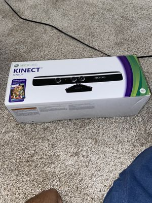 Xbox 360 Kinect Sensor with Game! for Sale in Mokena, IL