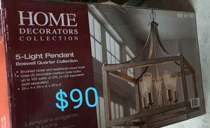 5 light chandelier Boswell for Sale in Bakersfield, CA