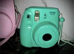 FUJI FILM | Instax mini 8 & baby pink case included for Sale in Rowlett, TX