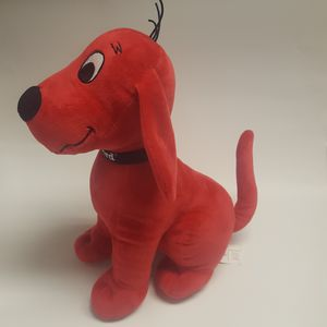 """Clifford dog plush 14"""" for Sale in Houston, TX"""