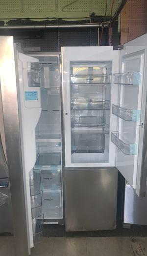 LG double door refrigerator stainless steel brand new with warranty for Sale in Elkridge, MD