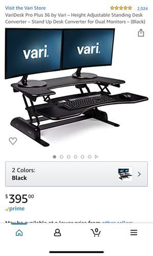 VariDesk Pro Plus 36 by Vari for Sale in Woodbridge, VA