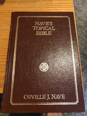 Nave's Topical Bible by Orville J Nave for Sale in Grand Rapids, MI