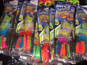 Balloons $1 each pack of 37 balloons for Sale in Bellflower, CA