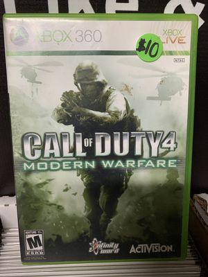 XBOX 360 Call of Duty 4 Modern Warfare for Sale in Glendale, AZ