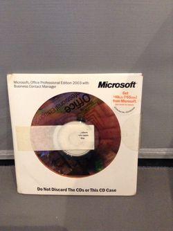 Microsoft professional 2003 for Sale in Braintree,  MA
