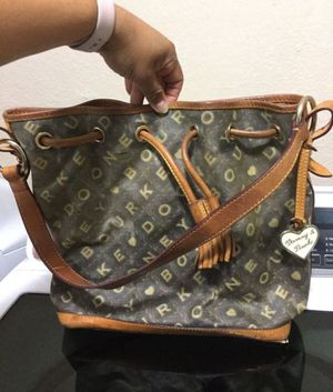Dooney and Bourke bucket bag needs cleaning inside authentic $10 for Sale in Fort Worth, TX