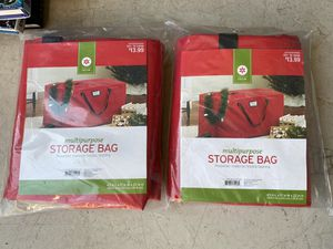 Storage Bags Brand New (2) for Sale in Leesburg, VA