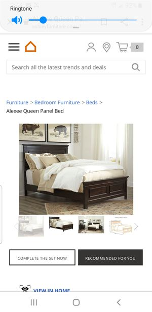 Ashley alexie bed for Sale in Puyallup, WA