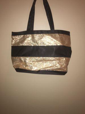 Cute Gold & black bag/purse for Sale in Wichita, KS