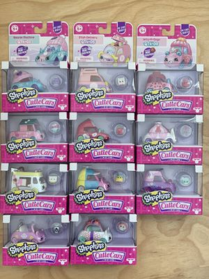 Shopkins Cutie Cars Series 4 set of QT1-QT11 for Sale in Los Angeles, CA