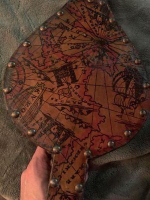 Antique Spanish hand painted Bellows from 1950s for Sale in Portland, OR