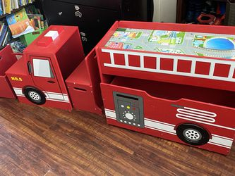 Fire Engine Fire Truck Toy Storage & Play Area for Sale in Huntington Beach,  CA