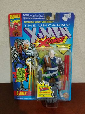 Cable 3rd editon The Uncanny X-Men X-Force RARE VINTAGE COLLECTABLE Action Figure for Sale in Thonotosassa, FL