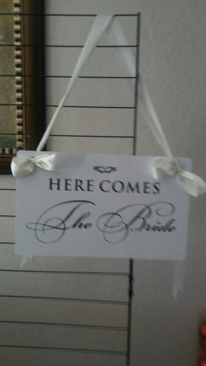 Here comes the bride sign for Sale in Hialeah, FL