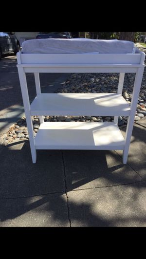 Changing table with pad included for Sale in Redwood City, CA