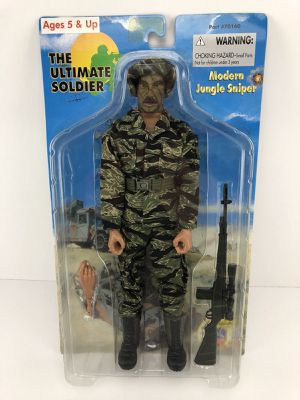 """21st Century Toys US Modern Jungle Sniper Soldier 