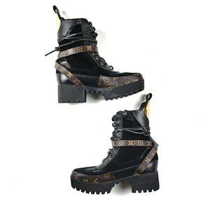 LOUIS VUITTON - laureate platform desert boots for Sale in Atlanta, GA
