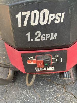 Black Max Pressure Washer for Sale in Norcross, GA