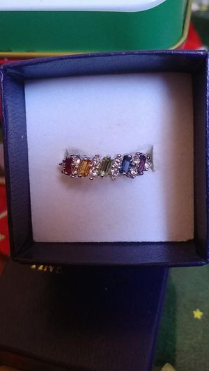 Women's Ring Multi-Colored Stones Size 7 for Sale in Cottle, WV