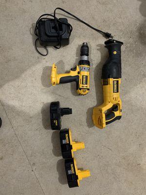 Dewalt sawzall and hammer drill. for Sale in Portland, OR