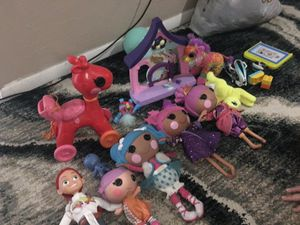 Lalaloopsy dolls selections all you see n the pic asking 40 for Sale in Tampa, FL
