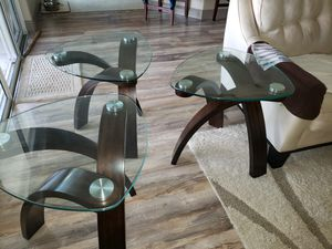 3 end tables for Sale in Palm Bay, FL