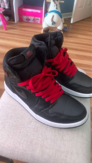Air jordan 1 retro HIGH OG BLACK GYM RED size 9 for Sale in Daly City, CA