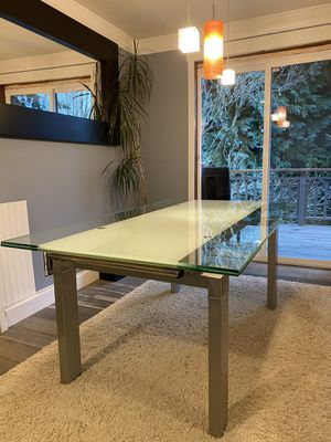 Dania Glass Dining Table. for Sale in Seattle, WA