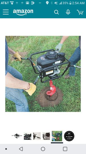 Briggs and Stratton Earthquake 190cc Two Man Earth Auger for Sale in Los Angeles, CA