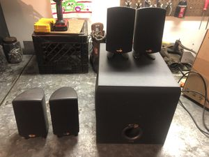 Klipsch surround sound speakers for Sale in Midlothian, IL