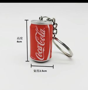 Keychains mini sodas get 3 pcs $10 free shipping for Sale in Los Angeles, CA