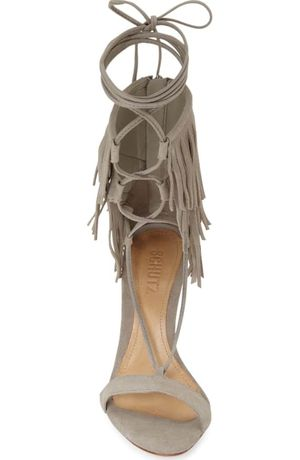 Schutz kija fringe heels for Sale in Burlington, MA